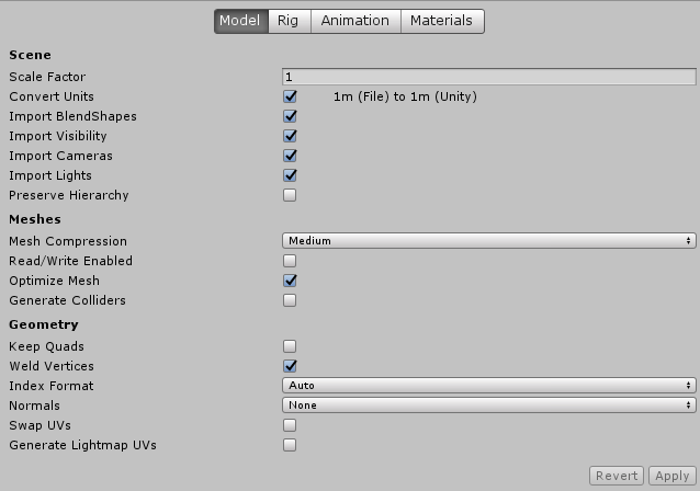 Unity Audio Settings